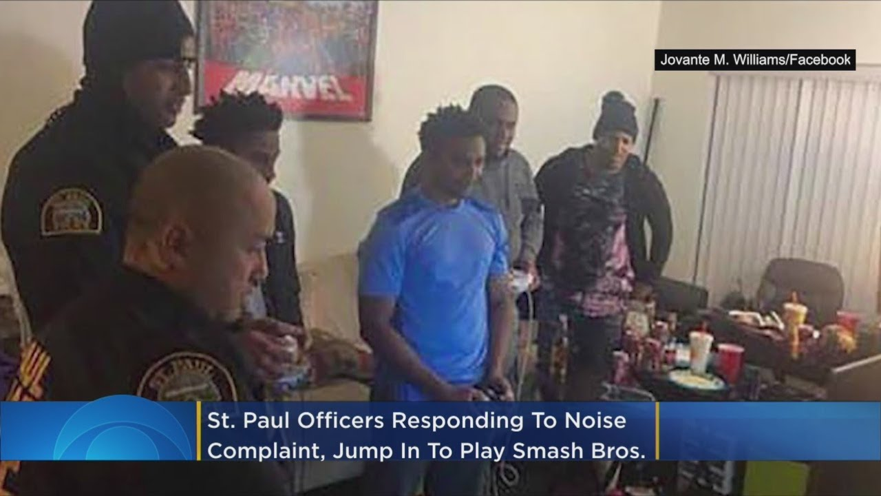 St. Paul Cops Respond To Noise Complaint, End Up Playing Super Smash Bros.