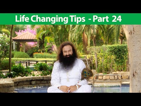 Life Changing Tips Part 24 | Saint Dr MSG Insan