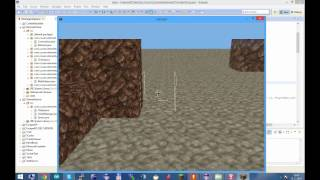 Java OpenGL 3D game test 2 - Multiplayer + blocks