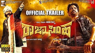 RAJASIMHA - New Kannada Movie (Official Trailer) - Aniruddh, Nikita Thukral, Sanjana Galrani