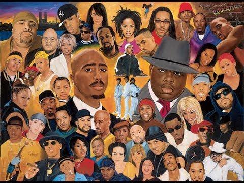 Evolution of Hip-Hop (1979-2017)