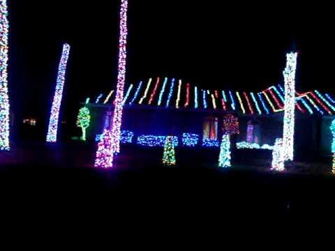 christmas light show 2009 in montgomery alabama - Christmas Light Show 2009 In Montgomery Alabama - YouTube