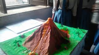 BBViC, lko, Science tech fest.... Volcanic eruption