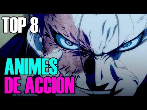 TOP 8 Animes De Acción Recomendados