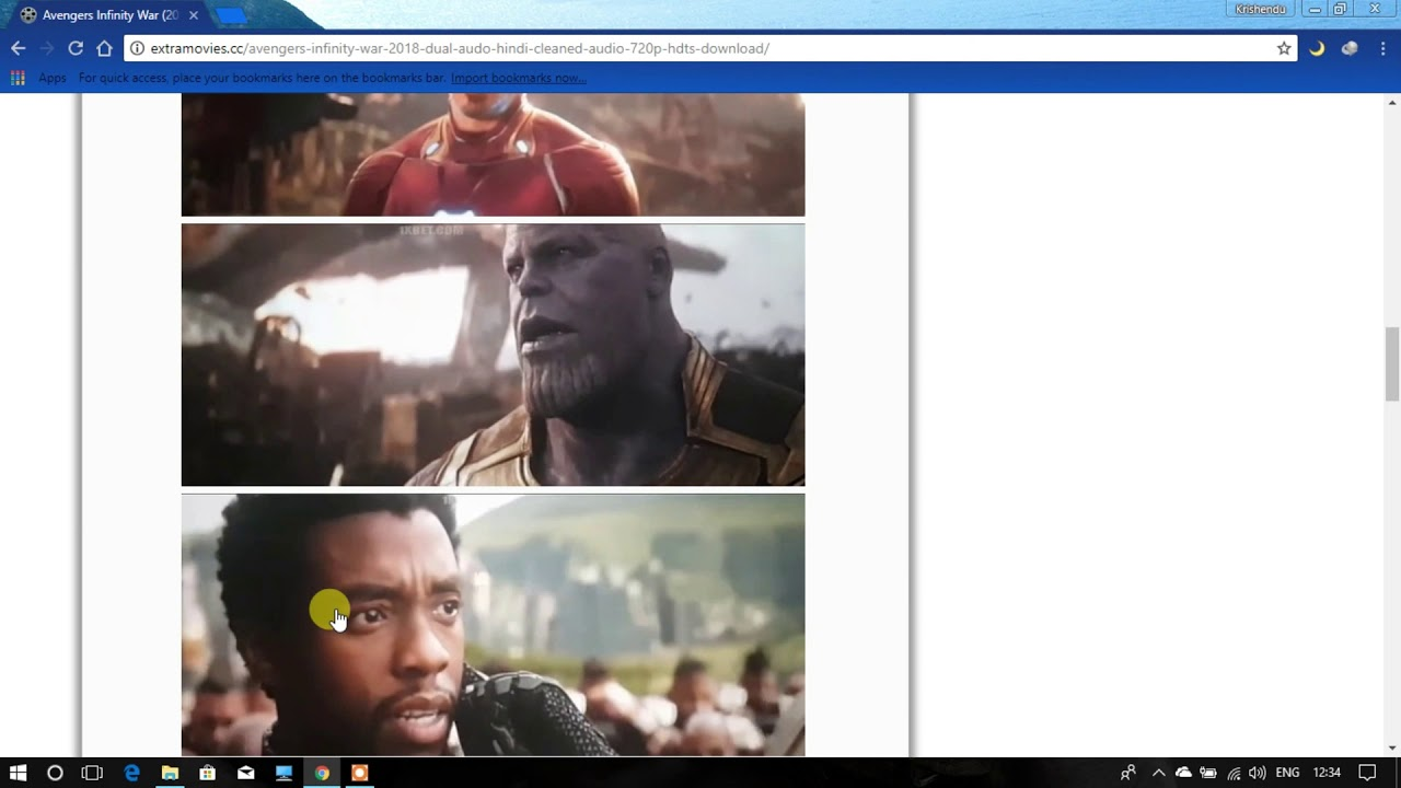 DOWNLOAD AVENGERS INFINITY WAR 2018 DUAL AUDIO FOR FREE
