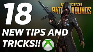 18 NEW TIPS and TRICKS That Will Make You A Better PUBG Player - Xbox One