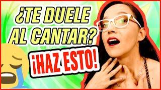 ¿Por qué cantas con garganta? 6 cosas que estás haciendo mal al cantar   Ceci Suárez Clases de canto