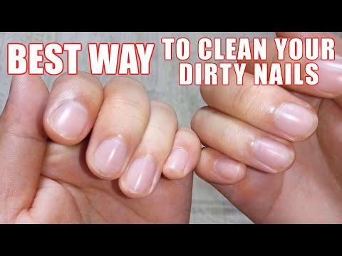 How to Clean Under Your Nails - Cleaning Dirt & Keep Fingernails Clean!