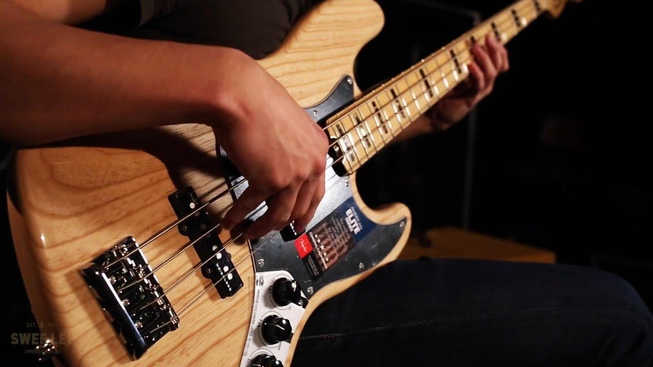 Fender American Elite Jazz Bass Youtube 3 Way Switch