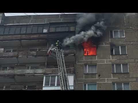 Пожарные едва успели.