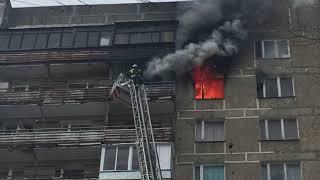 Пожарные едва успели. Пожар в жилом доме. 3 марта 18 года