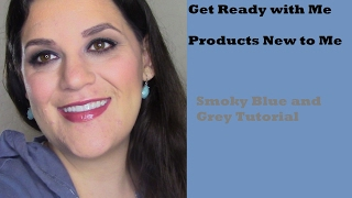 Get Ready with Me: Products New to Me | Smoky Blue and Grey Eye Look(, 2017-02-20T12:58:40.000Z)