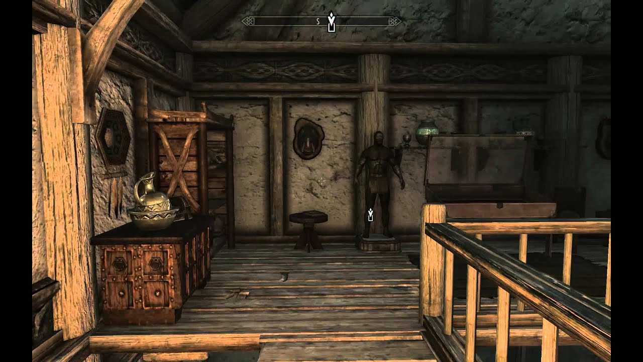 Tes5 Skyrim Lakeview Manor Entryway Amp Main Hall Youtube