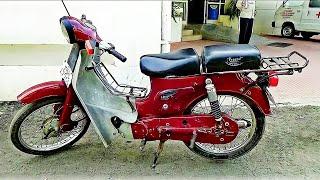 Old Popular bike Bajaj M80 Major 1980  of India  for Middle class  &  Farmers