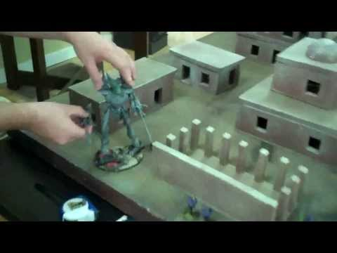 Riptide vs Wraithknight a duel to the death in Warhammer 40K for Tau and Eldar
