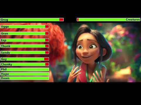 Download The Croods: A New Age (2020) Trailer with healthbars