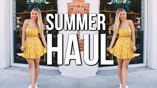 SUMMER CLOTHING HAUL