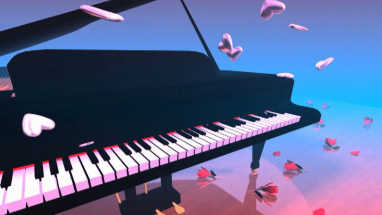Video Background Full HD Piano