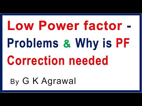 Why Power Factor correction required in industry ?