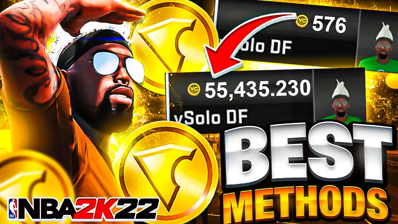 Download THE BEST & FASTEST WAYS to EARN VC in NBA 2K22! ✅ TOP 8 LEGIT METHODS to GET VC EASILY in NBA2K22!