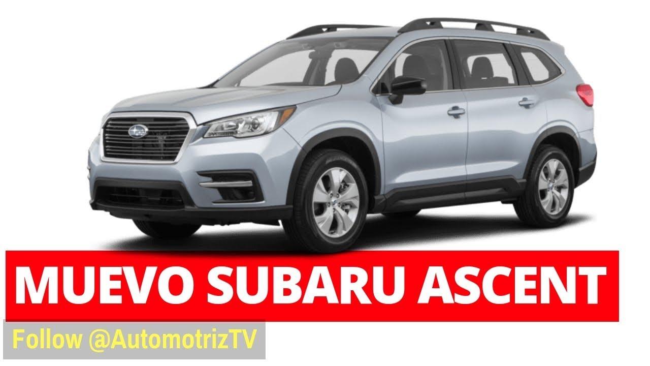 Subaru Ascent. ¡Llegó el Subaru que estabas esperando ...