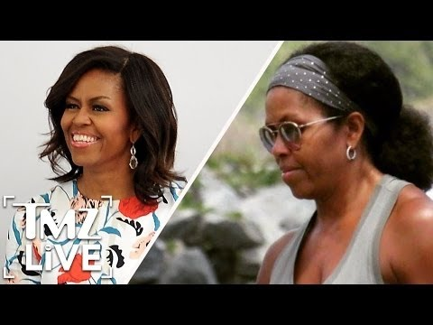 Michelle Obama: All Natural  | TMZ Live