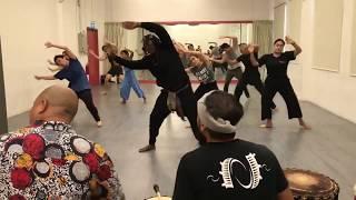 Sankofa Singapore African dance workshop series in collaboration with Nadi Singapura (Aug-Oct 19) V2