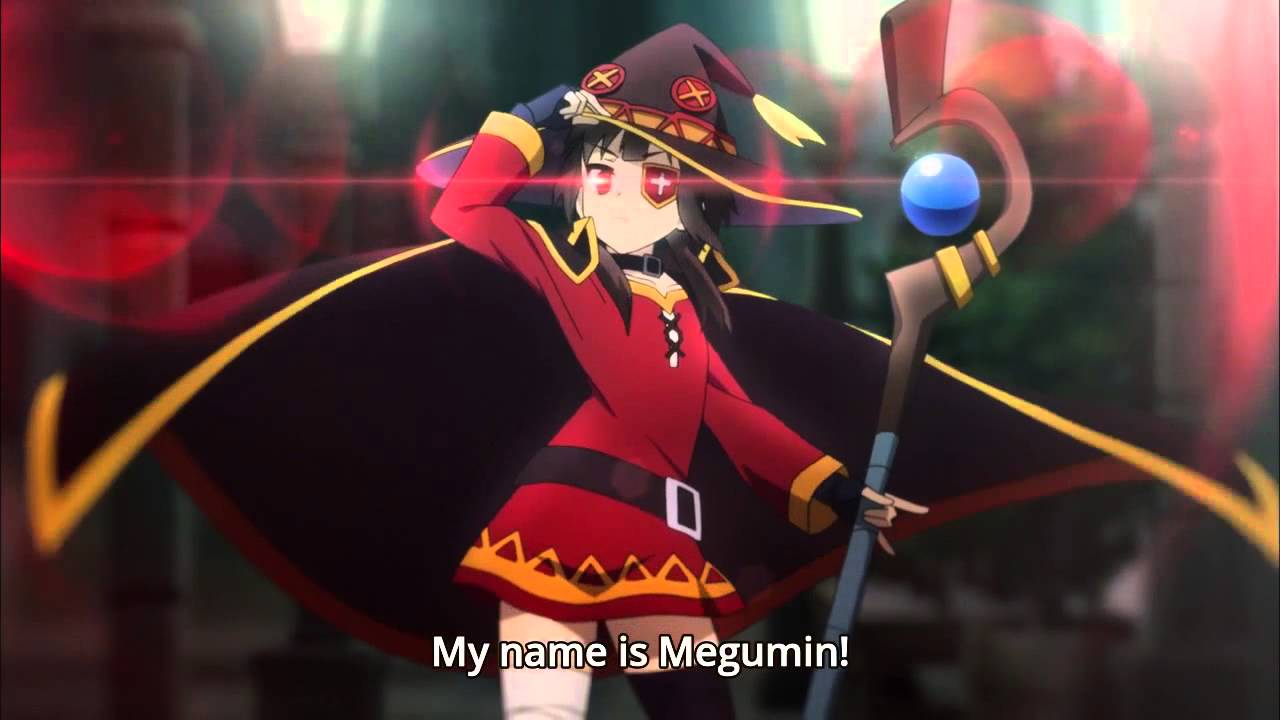 Girls Working Out Wallpaper Megumin My Name Is Megumin All Youtube