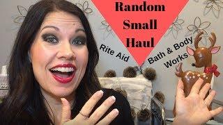 Small Random Haul - Bath & Body Works, Rite Aid, TJ Maxx