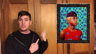 KEHINDE WILEY ANSWERNG THE QUESTON WHY IS BLACK BEATIFUL