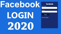 Facebook Login | www.facebook.com Login Help 2020 | Facebook.com Sign In