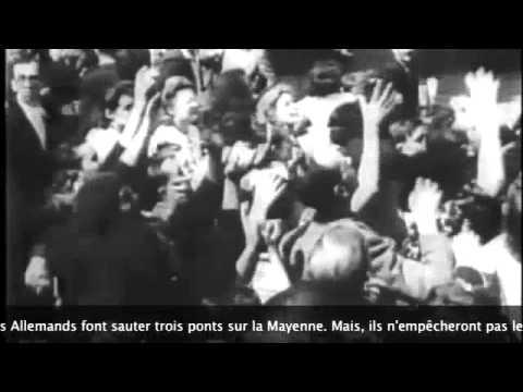 D-Day. 1944. La libération de Laval (Mayenne)