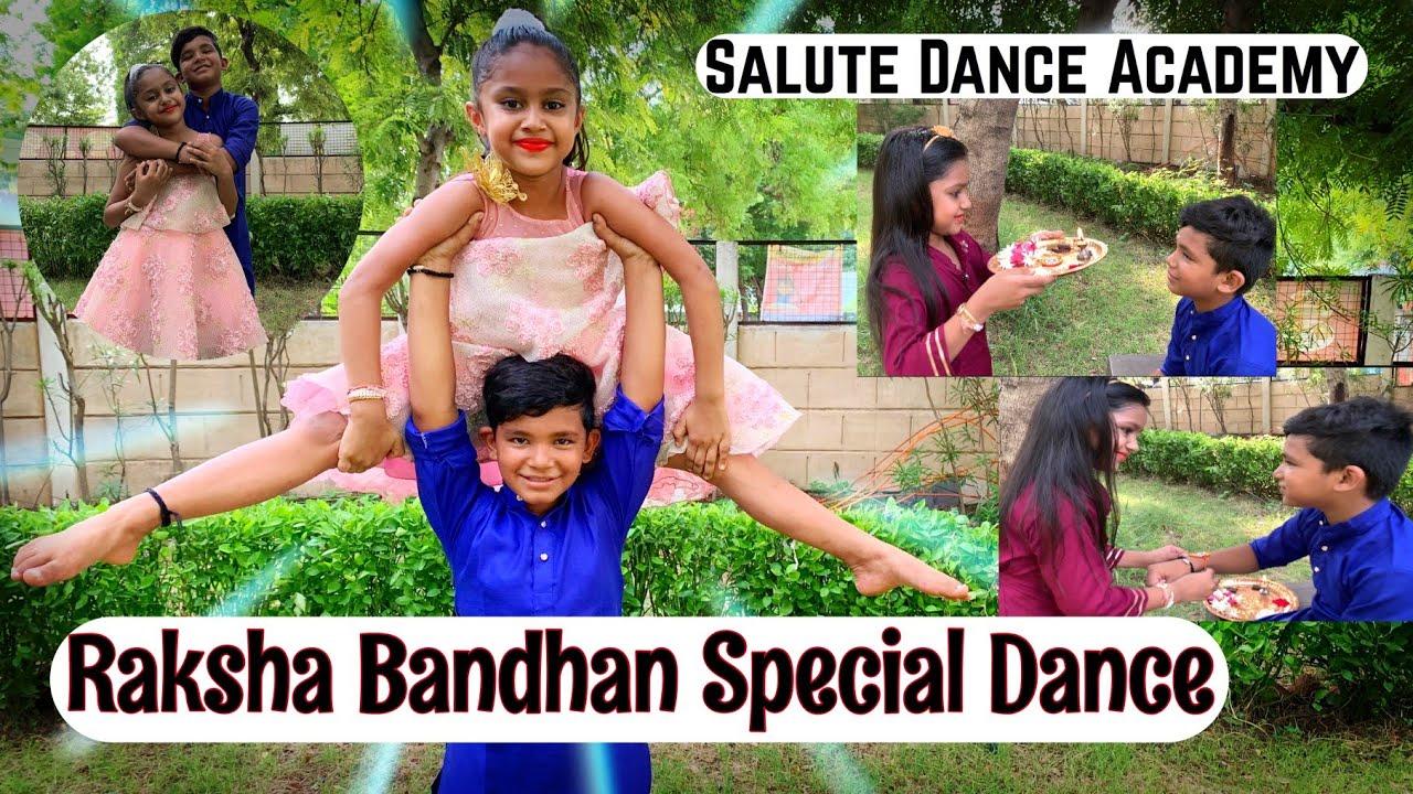 RAKSHA BANDHAN SPECIAL DANCE  | BROTHER & SISTER LIFE STORY WID DANCE | SALUTE DANCE ACADEMY | VIRAL