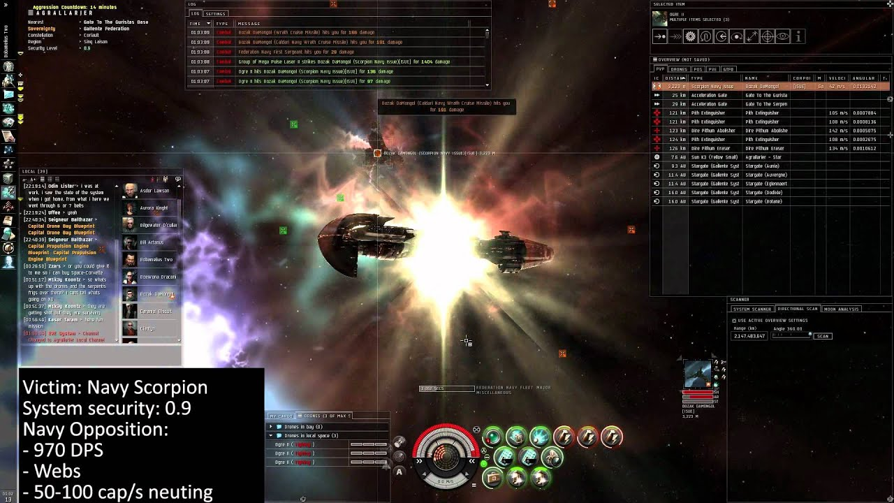 Ganking FW Targets in Hisec - EVE Online
