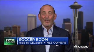 Major League Soccer commissioner on growth of soccer in the US