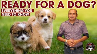 Ready For a New Puppy Dog? Owning a Dog Breed || Adopting a Puppy (Dog Pet Care) || Baadal Bhandaari
