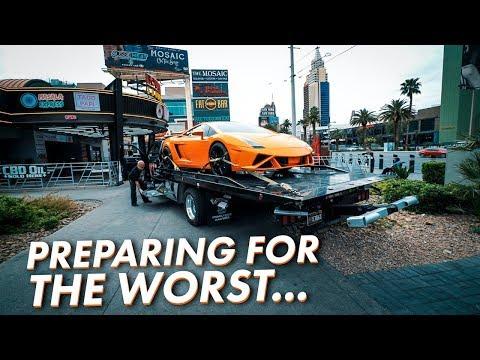 Lamborghini Rescue Mission on Las Vegas Strip