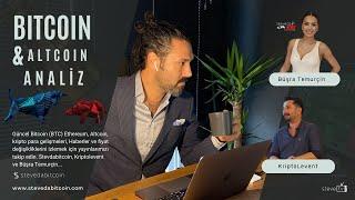 Bitcoin, Ethereum ve Altcoin Analiz | Güncel Bitcoin (BTC) Piyasa Analizi #43.Yayın