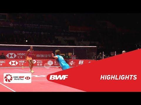 HSBC BWF World Tour Finals 2018   WS - F - HIGHLIGHTS   BWF 2018