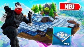 200 Bounce Pads VS. Cube Insel in Fortnite 😂