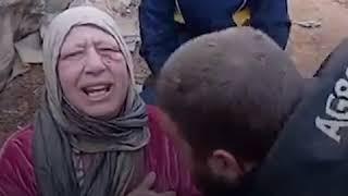 #شاهد... أم توجه رسالة لإبنها وهي تبكي...