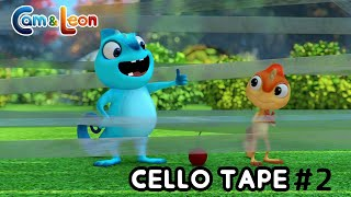 Cam & Leon | Cello Tape #2 | Cartoon for Kids | Funny Cartoon