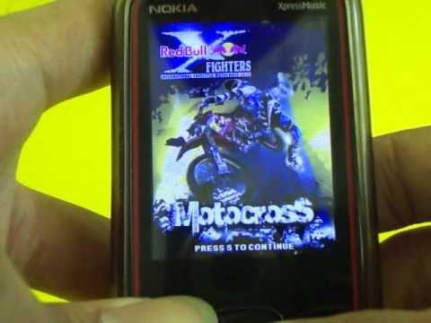 One Of The Best 3D Game For Nokia: RedBull MotorCross 2011