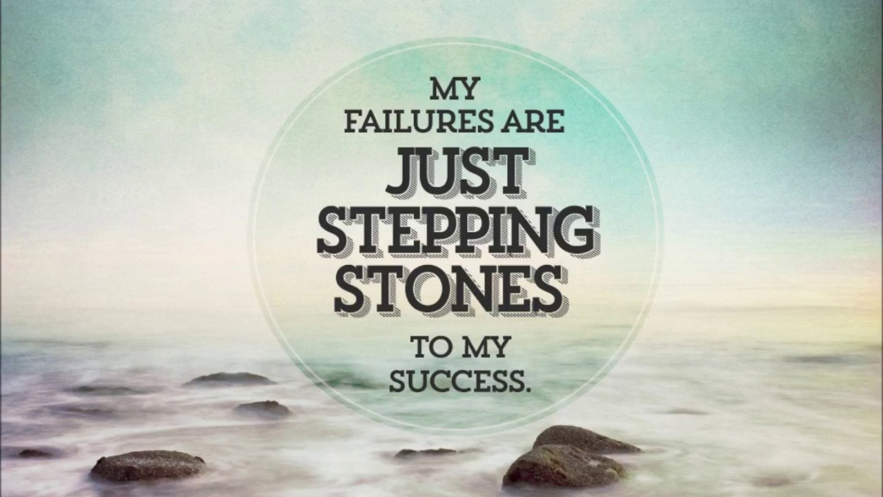 failure are stepping stone to success essay Failure is the first step to success failure and success are two sides of the same coin,the coin being the coin of will if your will is strong, your success is imminent if it is feeble, well.