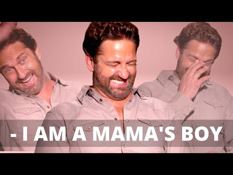 Gerard Butler On Being A Big Mama's Boy