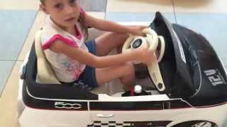 Peg Perego Fiat 500 12 volt Ride On