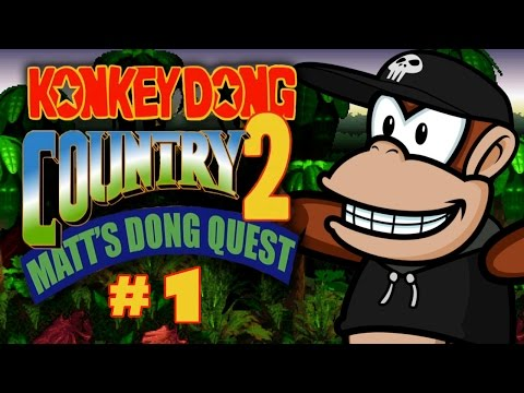 Konkey Dong Country 2: Matt's Dong Quest (Part 1)