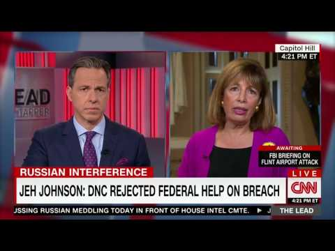 Rep. Speier Disputes Jeh Johnson's Testimony DNC Was Notified of Hacking