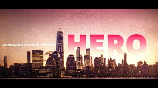 Afrojack & David Guetta - Hero (Official Lyric Video)