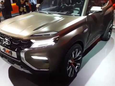 lada 4x4 vision concept car salon de moscou 2018 youtube. Black Bedroom Furniture Sets. Home Design Ideas